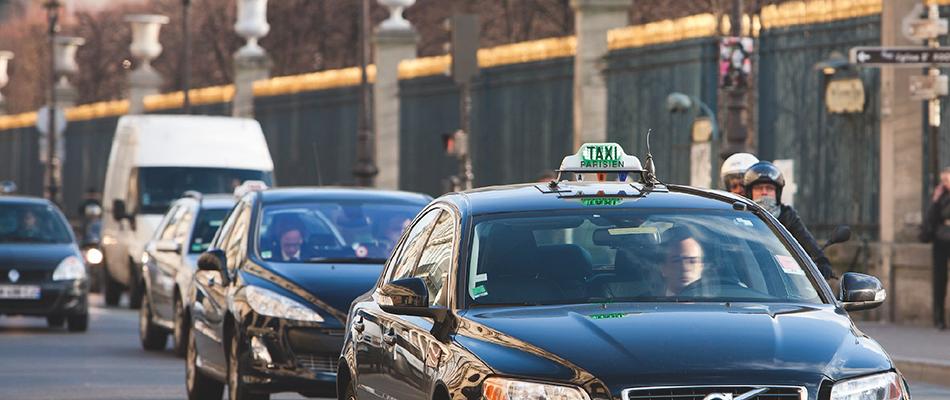 Devenir taxi pour son propre compte a Paris